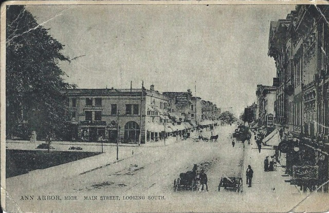 MainStreetAnnArbor1910