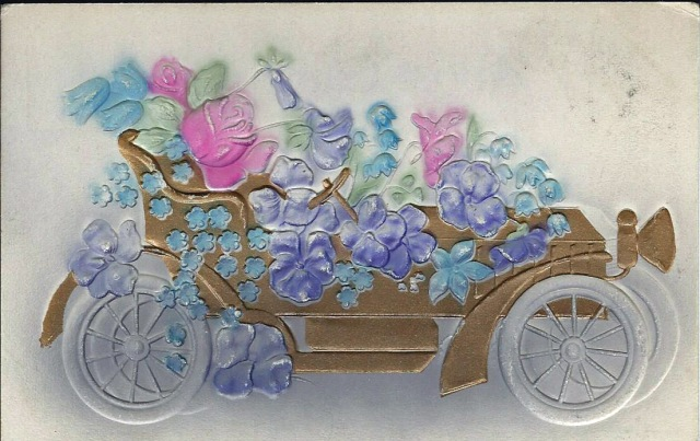 carwithroses