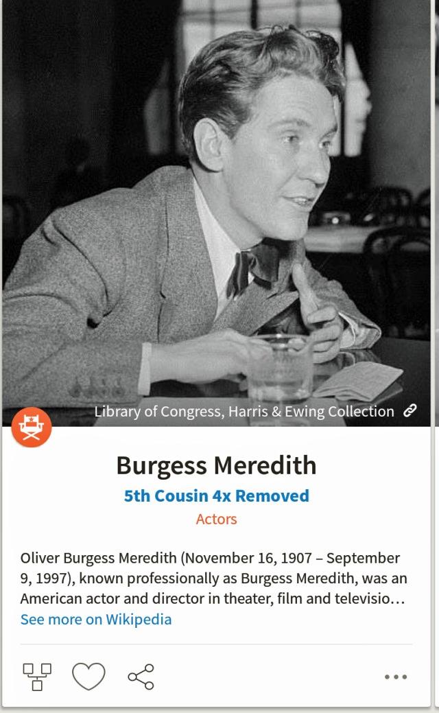BurgessMerideth