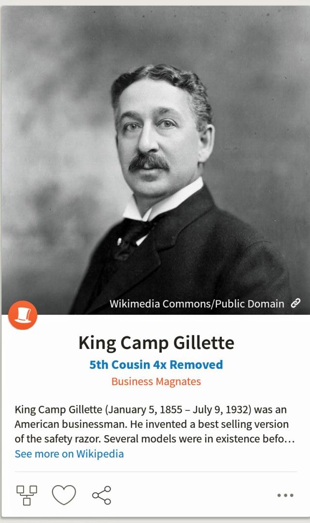 KingCampGillette