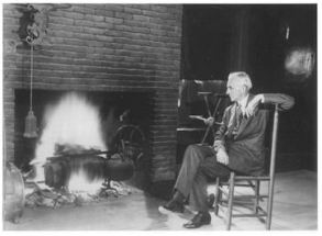 Henry Ford at Botsford Inn